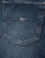 Tommy Jeans - MEG MR WIDE LEG ANKLE CNDBCF - szerokie dżinsy - cony dark blue comfort - 4