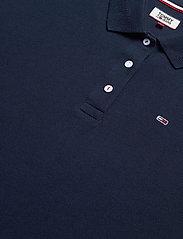 Tommy Jeans - TJW BRANDED COLLAR POLO DRESS - t-shirtklänningar - twilight navy - 2