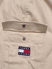 Tommy Jeans - TJW CARPENTER SKIRT - jupes courtes - soft beige - 4