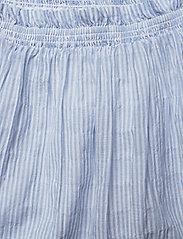Tommy Jeans - TJW SUMMER SEERSUCKER SKIRT - jupes courtes - white / moderate blue - 2