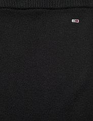 Tommy Jeans - TJW SWEATER SKIRT - midi kjolar - black - 4