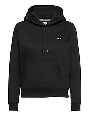 TJW REGULAR FLEECE HOODIE - BLACK