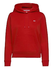 TJW REGULAR FLEECE HOODIE - DEEP CRIMSON
