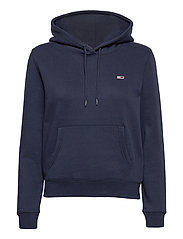 TJW REGULAR FLEECE HOODIE - TWILIGHT NAVY