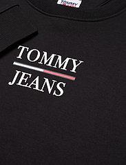 Tommy Jeans - TJW SLIM LOGO CREW - sweatshirts & hoodies - black - 2