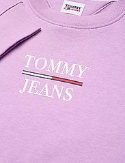 Tommy Jeans - TJW SLIM LOGO CREW - sweatshirts & hoodies - fresh orchid - 2