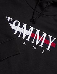 Tommy Jeans - TJW RELAXED CROP LOGO HOODIE - sweatshirts & hoodies - black - 2