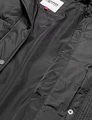 Tommy Jeans - TJW BELTED PUFFER - dun- & vadderade jackor - black - 4