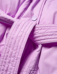 Tommy Jeans - TJW BELTED PUFFER - dun- & vadderade jackor - fresh orchid - 6