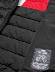 Tommy Jeans - TJW QUILTED TAPE HOODED JACKET - winter jackets - black - 7