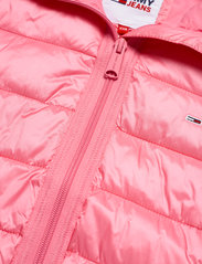 Tommy Jeans - TJW QUILTED TAPE HOODED JACKET - winter jackets - botanical pink - 3