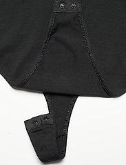 Tommy Jeans - TJW SHORTSLEEVE TAPE BODY - bodies - black - 5