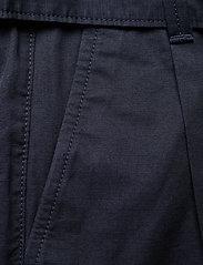 Tommy Jeans - TJW MOM BELTED SHORT - paper bag shorts - twilight navy - 2