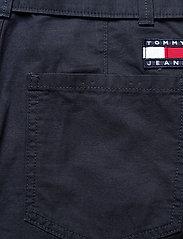 Tommy Jeans - TJW MOM BELTED SHORT - paper bag shorts - twilight navy - 4