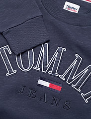 Tommy Jeans - TJW CROP COLLEGE LOGO SWEATSHIRT - sweatshirts & hoodies - twilight navy - 2