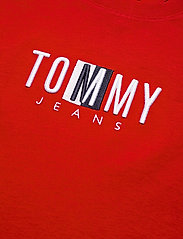 Tommy Jeans - TJW REGULAR TIMELESS BOX TEE - t-shirts - deep crimson - 2