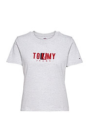 TJW REGULAR TIMELESS BOX TEE - SILVER GREY HTR