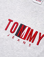 Tommy Jeans - TJW REGULAR TIMELESS BOX TEE - t-shirts - silver grey htr - 2