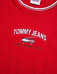 Tommy Jeans - TJW REGULAR TIMELESS SCRIPT TEE - t-shirts - deep crimson - 2