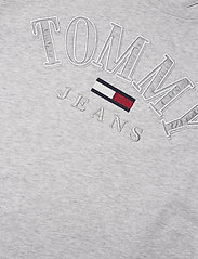 Tommy Jeans - TJW RELAXED COLLEGE LOGO TEE - t-shirts - silver grey htr - 2