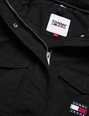Tommy Jeans - TJW COTTON FIELD JACKET - tunna jackor - black - 3
