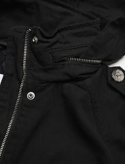 Tommy Jeans - TJW COTTON FIELD JACKET - tunna jackor - black - 6