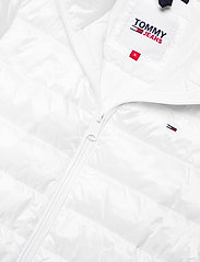 Tommy Jeans - TJW QUILTED ZIP THROUGH - dun- & vadderade jackor - white - 3