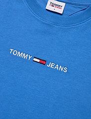 Tommy Jeans - TJW BXY CROP LINEAR LOGO TEE - crop tops - gulf coast blue - 2