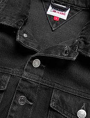 Tommy Jeans - CROPPED TRUCKER JACKET SSPBBRD - jeansjackor - save sp bk bk rgd destr - 2