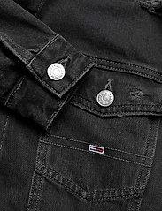 Tommy Jeans - CROPPED TRUCKER JACKET SSPBBRD - jeansjackor - save sp bk bk rgd destr - 3