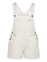 OVERSIZE DUNGAREE SHORT SSPWR - SAVE SP WHITE RGD