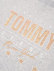 Tommy Jeans - TJW METALLIC TOMMY SWEATSHIRT - sweatshirts & hoodies - silver grey htr - 2