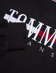 Tommy Jeans - TJW LOGO SWEAT DRESS C - vardagsklänningar - black - 2
