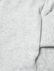 Tommy Jeans - TJW LONGLINE HOODIE BADGE DRESS - summer dresses - silver grey htr - 5