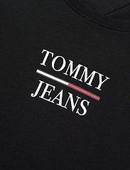 Tommy Jeans - TJW SKINNY ESSENTIAL LOGO TEE - t-shirts - black - 2