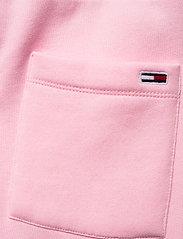 Tommy Jeans - TJW SLIM BOX FLAG SWEAT PANT - sweatpants - romantic pink - 4