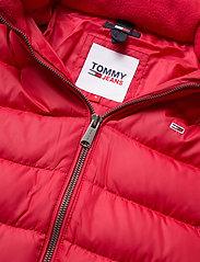 Tommy Jeans - TJW BASIC HOODED DOWN JACKET - dun- & vadderade jackor - samba - 2