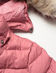 Tommy Jeans - TJW BASIC HOODED DOWN JACKET - dun- & vadderade jackor - withered rose - 5