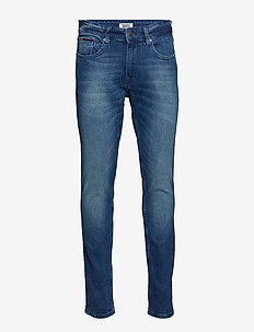 SLIM TAPERED STEVE BEMB - slim jeans - berry mid blue comfort