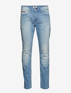 SLIM TAPERED STEVE B - BERRY LIGHT BLUE COMFORT