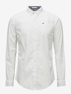 TJM ORIGINAL END ON - business skjorter - classic white