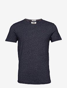 TJM ESSENTIAL JASPE TEE - t-shirts à manches courtes - black iris