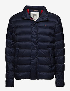 TJM LIGHT DOWN JACKET - BLACK IRIS