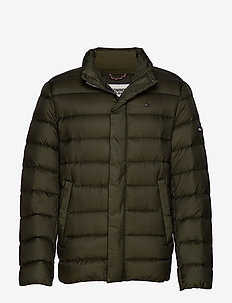 TJM LIGHT DOWN JACKET - FOREST NIGHT