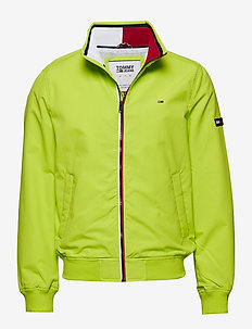 TJM ESSENTIAL CASUAL - bomber jackets - acid lime