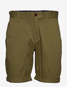 TJM ESSENTIAL CHINO SHORT - chinos shorts - uniform olive