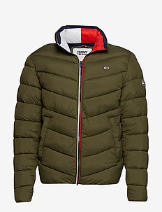 TJM ESSENTIAL PUFFER JACKET - OLIVE NIGHT
