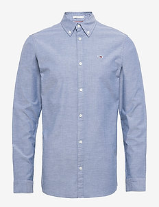 TJM STRETCH OXFORD SHIRT - BLACK IRIS