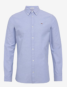 TJM STRETCH OXFORD S - basic-hemden - light blue