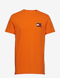 TJM TOMMY BADGE TEE - RUSSET ORANGE
